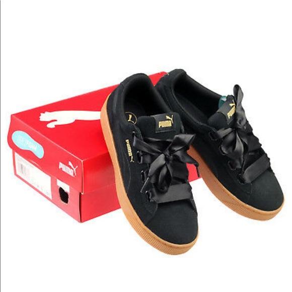 Puma Shoes   Puma Vikky Platform Bow